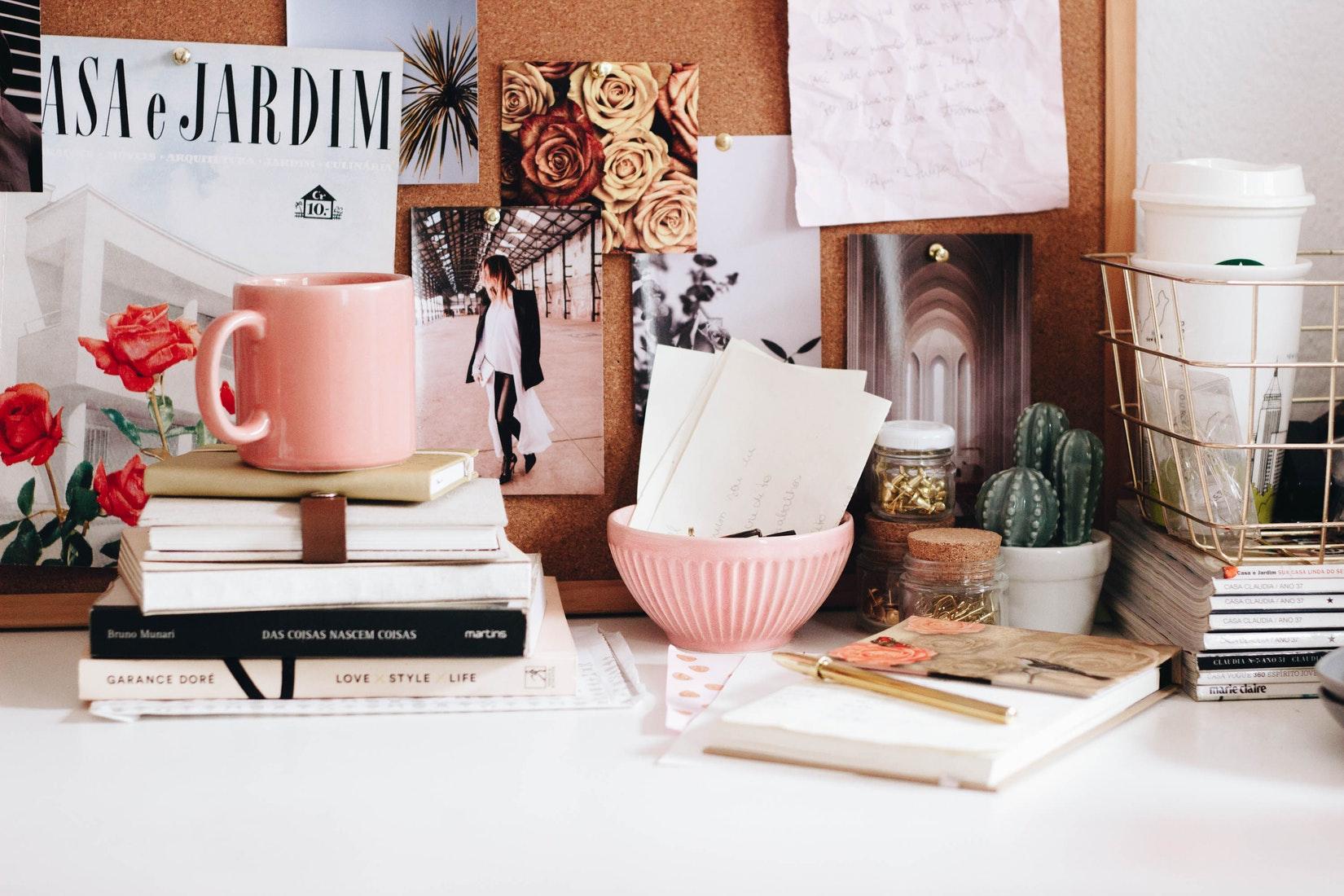 biurko - artykuły piśmiennicze