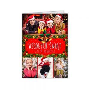 kartki świąteczne na boże narodzenie