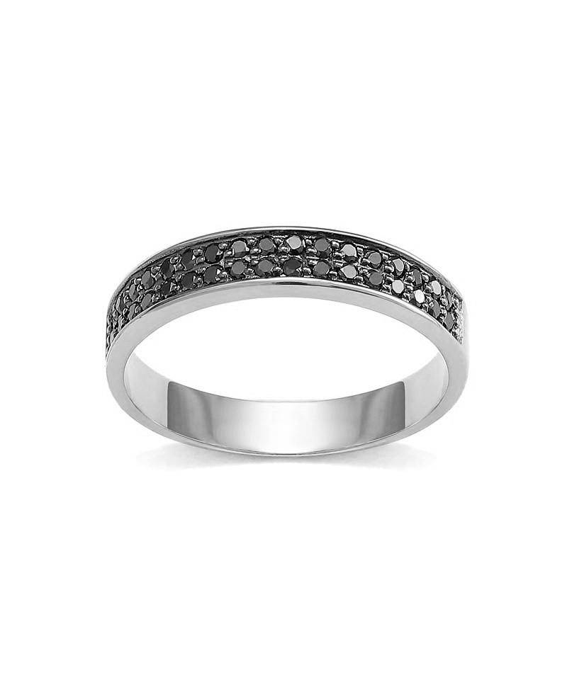 Jaki jest koszt pierścionka z czarnym brylatnem?