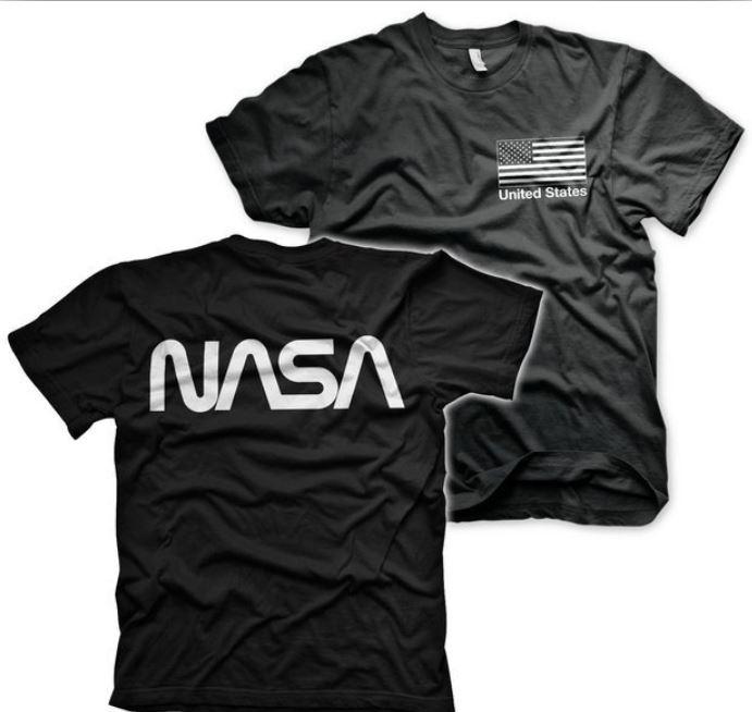 Koszulka Nasa będzie hitem drugiej ery podboju kosmosu?